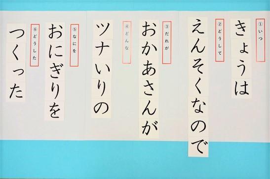 国語の文法指導