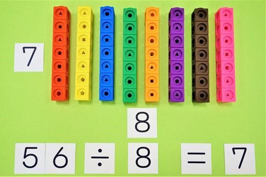 視覚化した算数の割り算指導